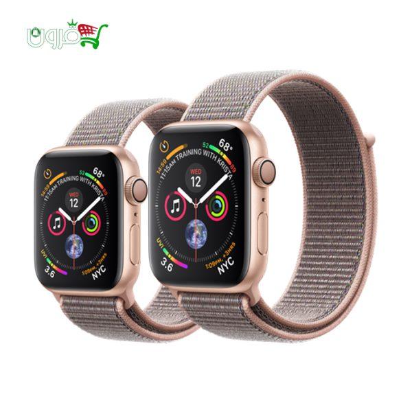 ساعت هوشمند اپل واچ 4 مدل 40mm GPS با بدنه آلومینیوم و بند اسپورت لوپ