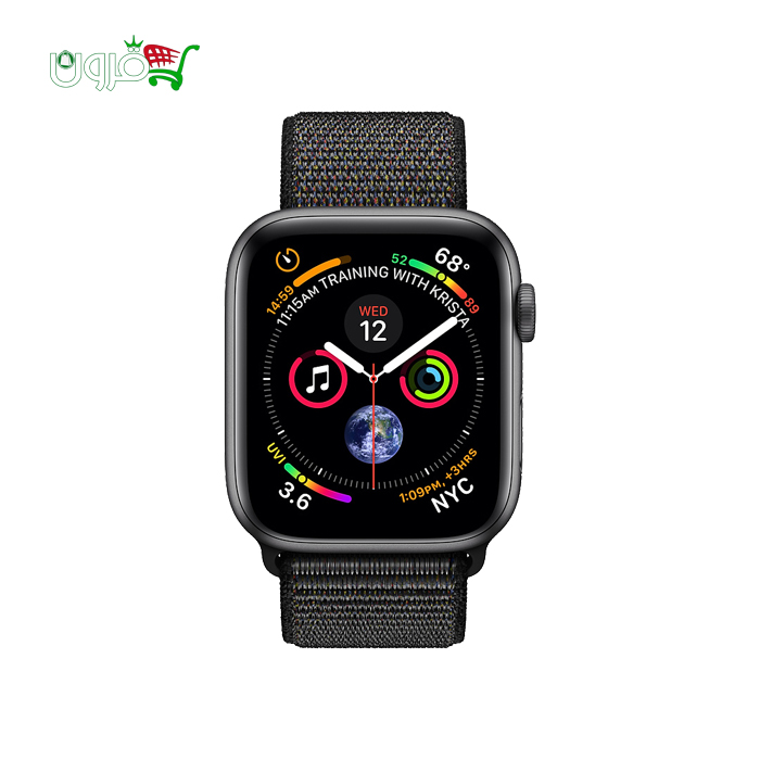 ساعت هوشمند اپل واچ ۴ مدل ۴۰mm GPS با بدنه آلومینیوم و بند اسپورت لوپ