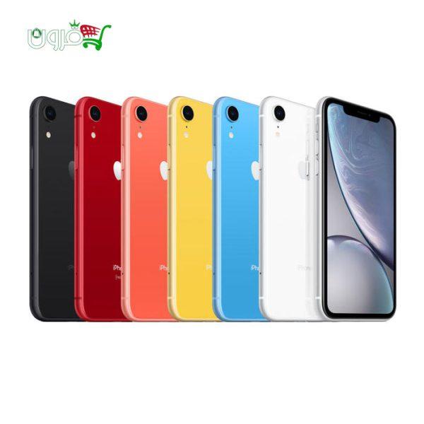 موبایل اپل آیفون XR با حافظه داخلی 64G-128G-256G