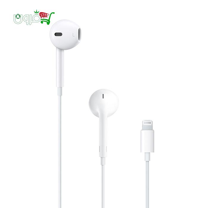 هندزفری اورجینال اپل EarPods با کانکتور لایتنینگ