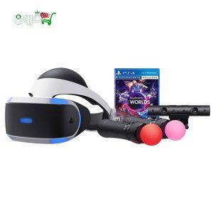 عینک واقعیت مجازی سونی PlayStation VR سری ۲ بهمراه بازی VR World