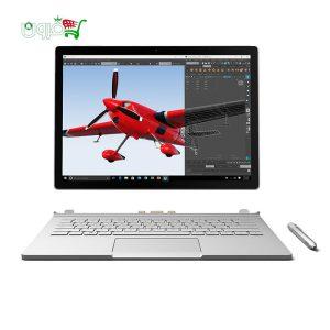 لپ تاپ ۱۳ اینچ مایکروسافت سرفیس بوک Performance -Ci7-16G-512G-Nvidia همراه با قلم،موس و داک مایکروسافت