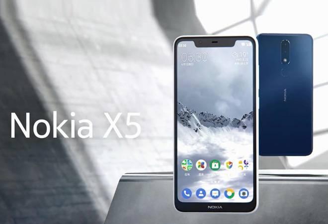 نوکیا دومین اسمارت فون دارای Notch، با نام X5 را معرفی کرد
