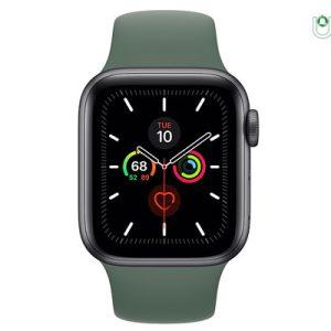 ساعت هوشمند اپل Apple Watch 5 44mm بدنه آلومینیوم خاکستری با بند اسپورت