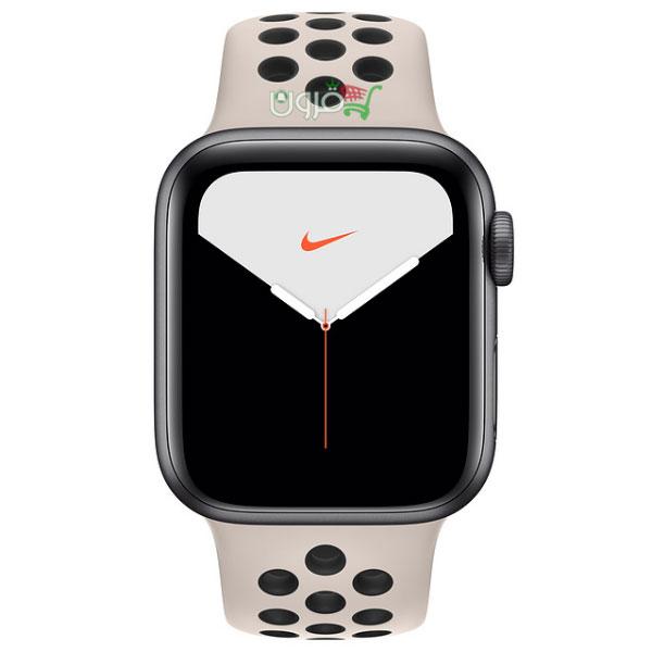 ساعت هوشمند اپل Apple Watch 5 Nike 40mm با بدنهی آلومینیوم خاکستری