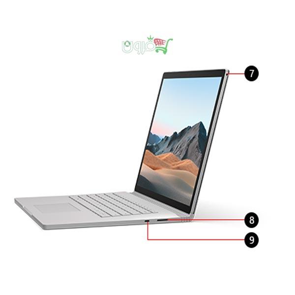 لپ تاپ 13.5 اینچی مایکروسافت Surface Book 3 Ci7-16G-256G-4G