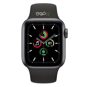 ساعت هوشمند اپل Apple Watch SE GPS سایز 44mm رنگ خاکستری بند اسپورت