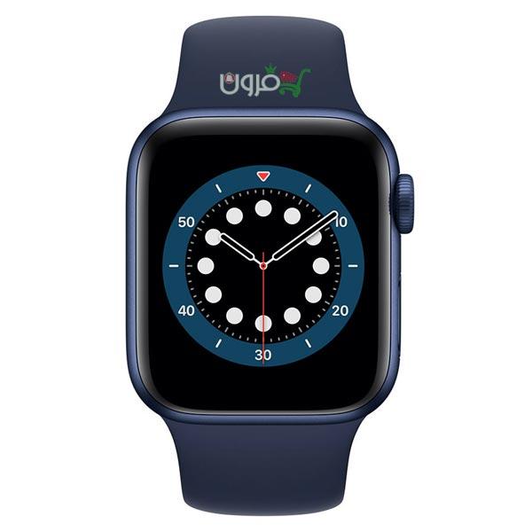 ساعت هوشمند اپل Apple Watch 6 GPS سایز 44mm رنگ آبی بند اسپرت