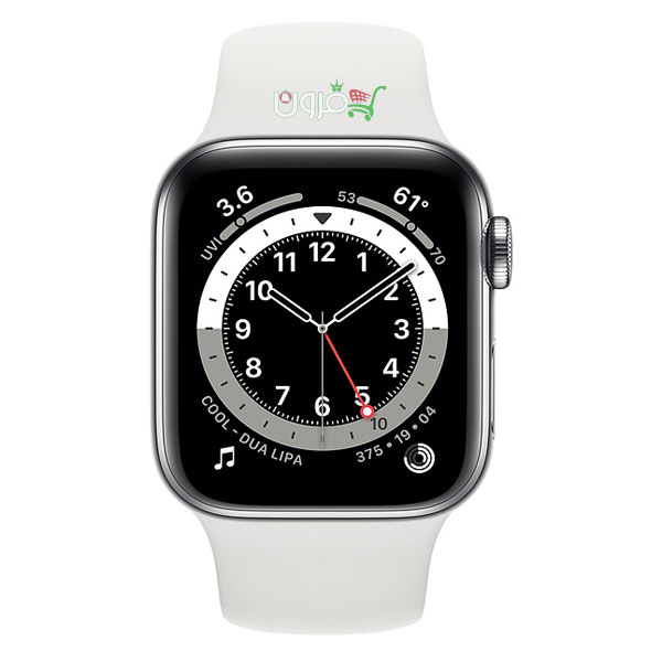 Watch Series 6 40mm GPS Watch Series 6 40mm GPS Silver With White Sport Apple