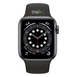 ساعت هوشمند اپل Apple Watch 6 GPS سایز 44mm رنگ خاکستری بند اسپرت