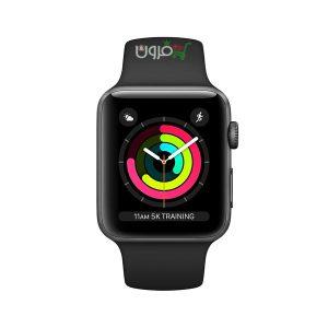 ساعت هوشمند اپل سری Apple Watch 3 سایز ۴۲ میلیمتر آلومینیوم با بند اسپورت