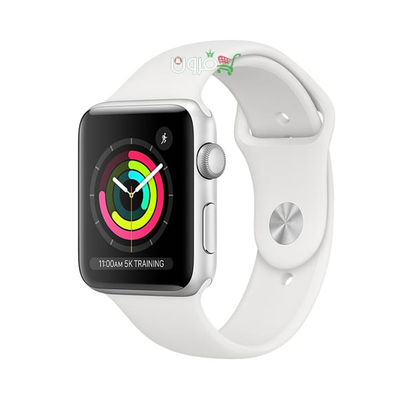 ساعت هوشمند اپل سری Apple Watch 3 سایز 38 میلیمتر آلومینیوم با بند اسپورت