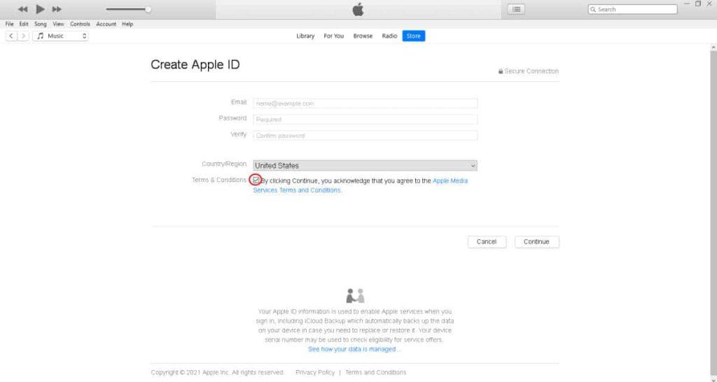 روش ساخت اپل ID چگونه است؟